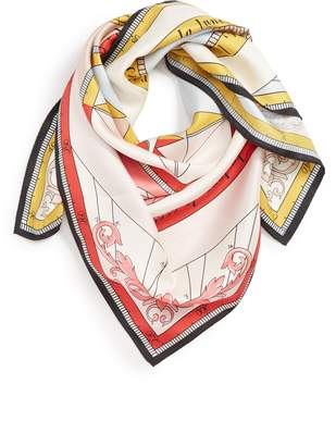 Tory Burch Constellation Square Silk Scarf
