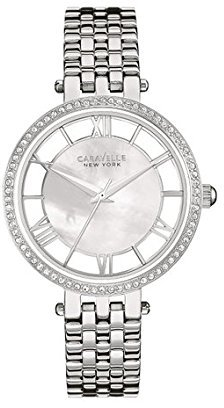 Bulova Women's Quartz Stainless Steel Casual Watch, Color:Silver-Toned (Model: 43L183) $55 thestylecure.com