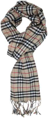 Wenseny Mens Scarves Winter Warm Classic Plaid Stripes Cashmere Multiple Scarf