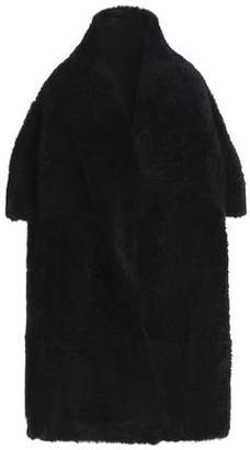 Yves Salomon Reversible Oversized Shearling Coat