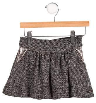 Lili Gaufrette Girls' Herringbone Skirt