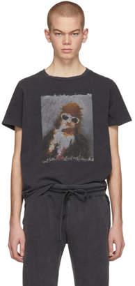 Remi Relief SSENSE Exclusive Black Glasses T-Shirt