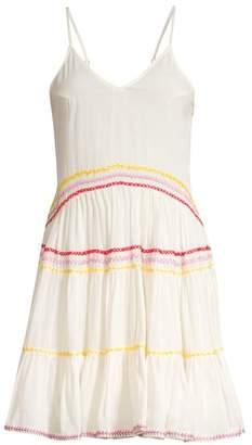 Carolina K. Marieta Multicolor Exposed Seam Mini Dress