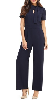 Maggy London Desk to Dinner Crepe Jumpsuit