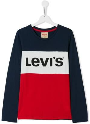 Levi's Kids logo print T-shirt
