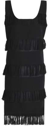 Prism Nevis Fringed Cotton-Twill Dress