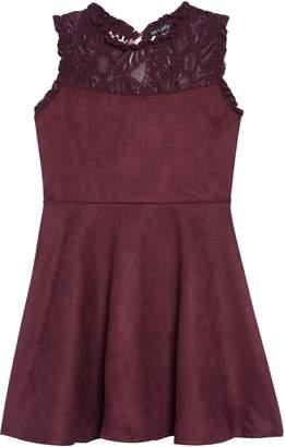 Ava & Yelly Lace Yoke Dress