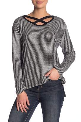Vintage Havana Striped Strappy Sweater