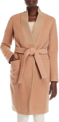 Soia & Kyo Belted Wool Coat