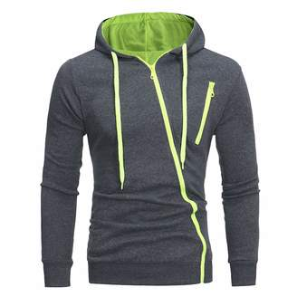dextrad fashion-hoodies Fashion Long Sleeve Hoodie Men Features Zipper Sweatshirt Mens Hooded Hoodies