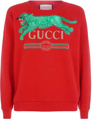 Gucci Animal Embroidered Sweater