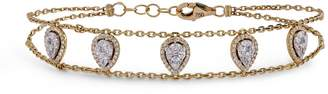 Djula Yellow Gold and Diamond Precieuse Bracelet