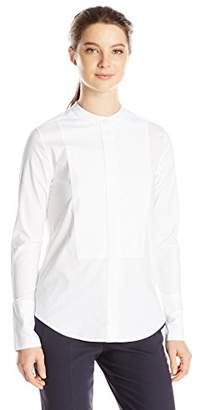 Dickies Junior's Long Sleeve Mandarin Collar Bib Shirt