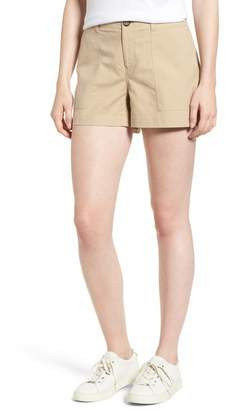 Nordstrom Signature Patch Pocket Shorts