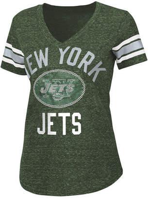 G-iii Sports Women's New York Jets Big Game Rhinestone T-Shirt