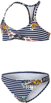 Roxy Keep In Flow Athletic Bikini Set
