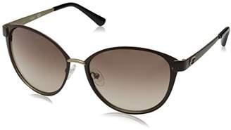 GUESS Women's Metal Soft Cat-Eye Cateye Sunglasses