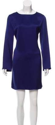 The Row Silk Long Sleeve Dress w/ Tags