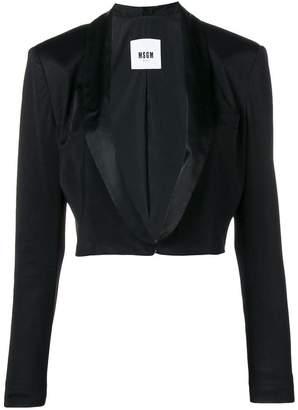 MSGM cropped jacket