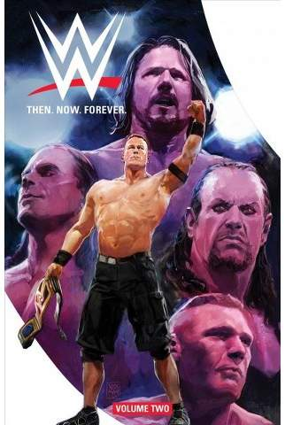 WWE : Then, Now, Forever - (WWE) by Dennis Hopeless & A. J. Styles & Box Brown (Paperback)