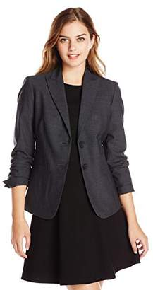 Jones New York Women's Washable Wool-Blend Button-Front Jacket $115.03 thestylecure.com