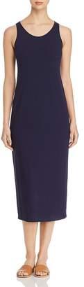 Eileen Fisher Scoop Neck Midi Tank Dress, Regular & Petite