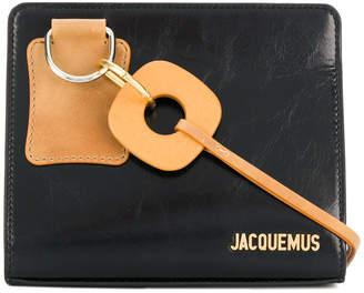 Jacquemus embossed logo shoulder bag