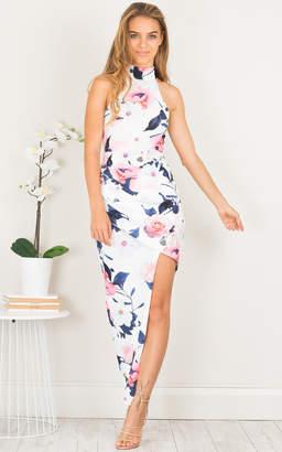 Showpo Up Top dress in pink floral