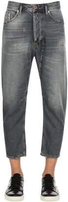 Diesel 17cm Narrot Vintage Washed Denim Jeans