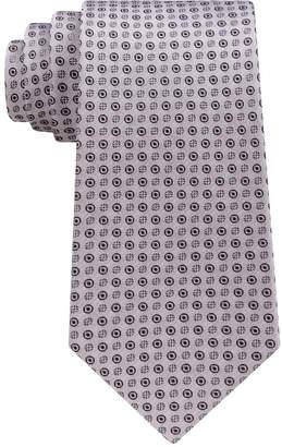 Calvin Klein Men Mini Bullseye Slim Silk Tie