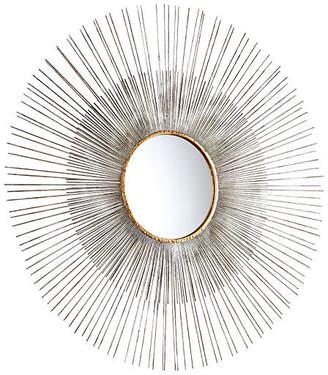 "Cyan Large 36"" Pixley Wall Mirror - Silver"