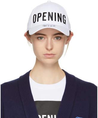 Opening Ceremony White New Era Edition Satin Stitch Logo Cap