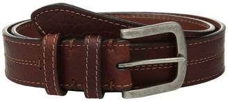 Torino Leather Co. Waxed Shrunken Bison Men's Belts