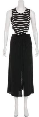 A.L.C. Striped Cutout Dress