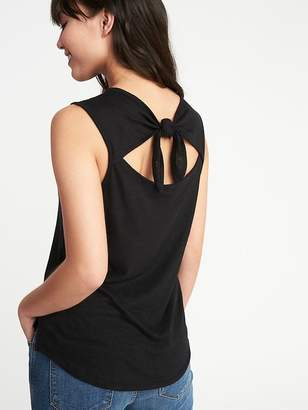 Old Navy Relaxed Sleeveless Tie-Back Top for Women