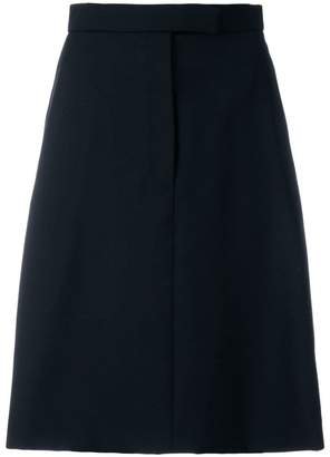 Thom Browne Buttoned Side A-line Skirt