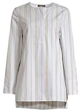 Lafayette 148 New York Women's Tilly Striped Cotton Tunic