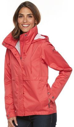 Women's Columbia Spring Run Hooded Short Trench Jacket $100 thestylecure.com