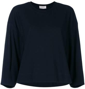 Zanone three-quarter sleeves knitted blouse