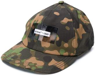 Off-White camouflage baseball cap