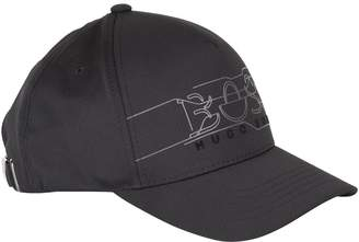 12ece371c1285 BOSS Reflective Logo Cap