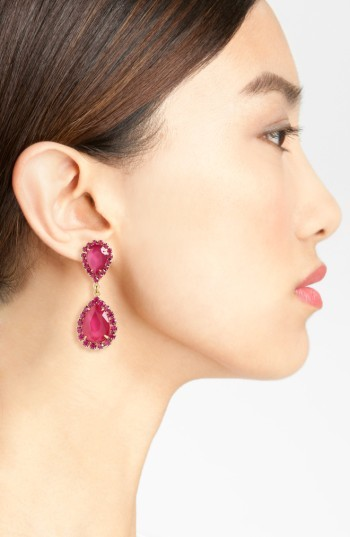 Women's Loren Hope Crystal Drop Earrings 4