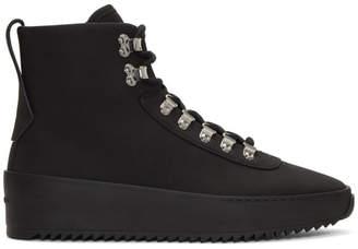 Fear Of God Black Nubuck Hiking Boots