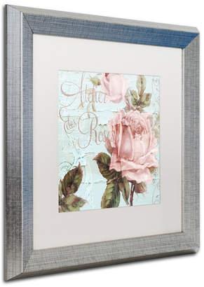 "Atelier (アトリエ) - Color Bakery 'Atelier De Roses' Matted Framed Art, 16"" x 16"""