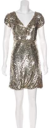 Jovani Silk Sequined Dress w/ Tags