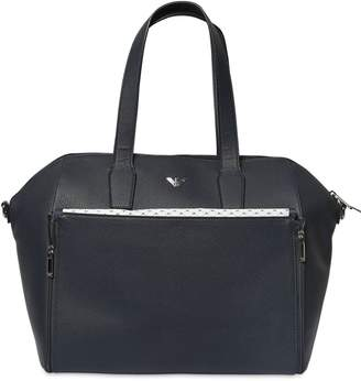 Emporio Armani Faux Leather Changing Bag
