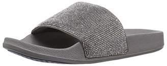 Skechers Women's POP UPS-Stone Age-Rhinestone Shower Slide Sandal