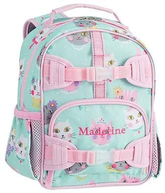 Pottery Barn Kids Mackenzie Aqua Pink Princess Kitty Lunch Bags