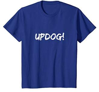 Updog Whats Up Dog Word Play T-Shirt Single Joke Funny