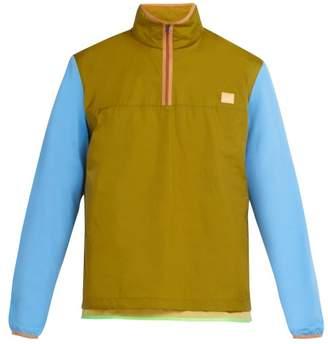 Acne Studios Osric Contrast Sleeve Jacket - Mens - Khaki